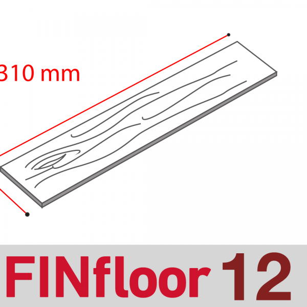 FinFloor 12 (12mm Bevelled Range)
